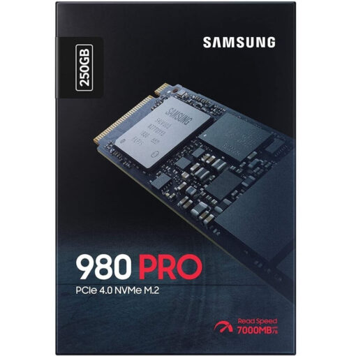 Samsung 980 Pro 250GB PCIe 4.0 NVMe M.2 Internal Gaming SSD