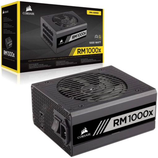 Corsair RMx Series RM1000x 1000 Watt 80 PLUS Gold Certified Fully Modular Power Supply