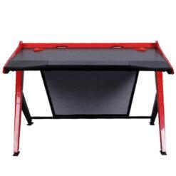 DXRacer Gaming Desk Black and Red
