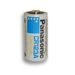 Panasonic CR123A Lithium 3V Photo Power Battery