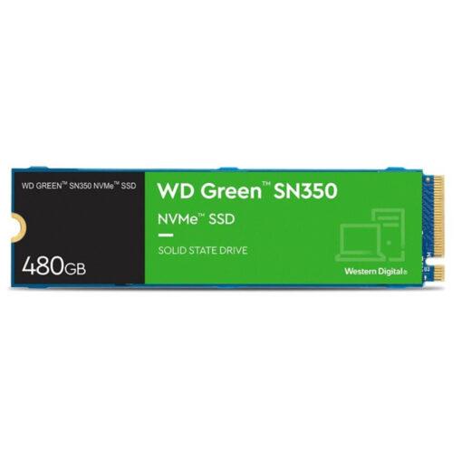 WD Green SN350 480GB NVMe PCIe Gen3 Internal SSD