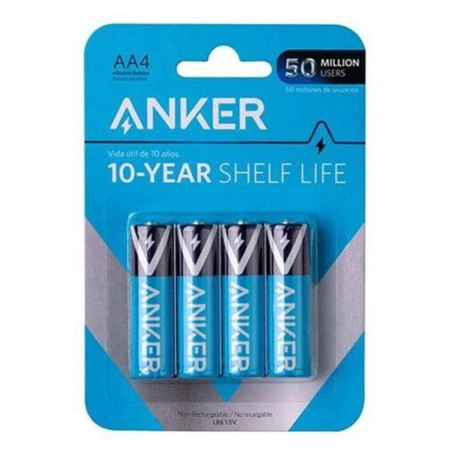 Anker AA Alkaline Batteries - 4 Pack