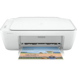 HP DeskJet 2320 All-in-One Color Printer, USB Plug and Print, Scan, and Copy - White
